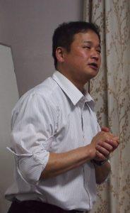 「宝当乃館」野崎さんの講演