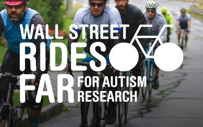 Wall Street Rides FAR – Charity bike ride for Autism Science Foundation