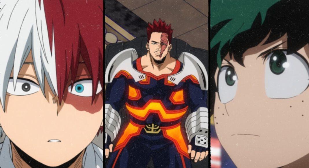 My Hero Academia Episode 105