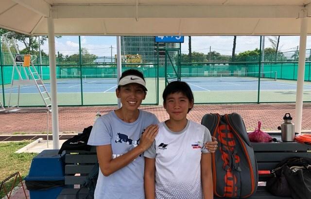 マレーシアナンバー1のジュニアとテニス!!