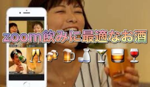 【zoom飲み】オンライン飲み・自宅飲み・リモート飲みに最適なお酒6選