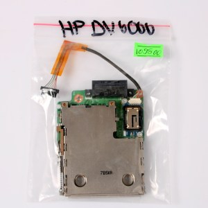 HP Pavilion DV6000 PCMCIA Express Card Remote Slot & BLUETOOTH DAAT6ATH8A1 412766-002