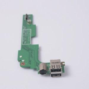 DELL Inspiron 1525 Dual USB S-Video SIM Slot Board 48.4W007.021