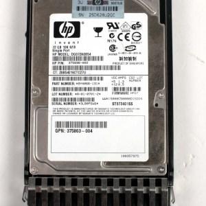 "HP 72.0GB 10K SAS 2,5"" Harddisk & Kızak 375696-002 DG072A8B54 376597-001"