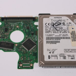 HITACHI HTS421280H9AT00 80GB IDE 2,5 HARD DRIVE / PCB (CIRCUIT BOARD) ONLY FOR DATA