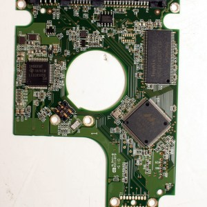 WD WD3200BPVT-22ZEST0 320GB SATA  2,5 HARD DRIVE / PCB (CIRCUIT BOARD) ONLY FOR DATA