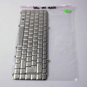 DELL XPS M1330 Silver Keyboard Turkish Q 9JN9382