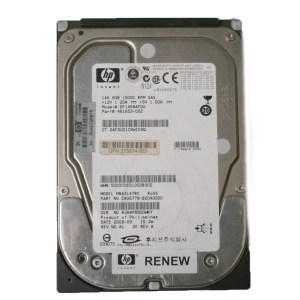 "HP 146GB 15K SAS 3.5"" HARDİSK MBA3147RC 481653-002"