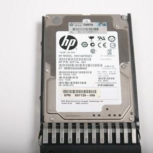 """HP 146GB 15K 2.5"""" SAS Hard Drive & Kızak EH0146FBQDC  627114-001"""