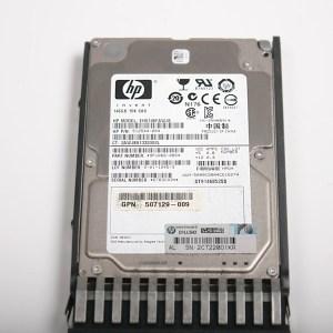 """HP 146GB 15K 2.5"""" SAS Hard Drive & Kızak EH0146FAWJB"""
