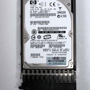 """HP 72.0GB 10K SAS 2,5"""" Harddisk & Kızak 434916-001 DG072BAAJA 459512-001"""
