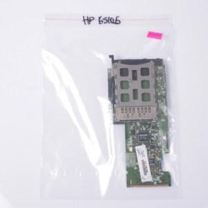 HP 6510B PC Card Socket & Audio Board /W Fax Modem 6050A2085501