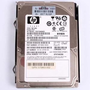 "HP 72.0GB 10K SAS 2,5"" Harddisk & Kızak 431954-002 DG072ABAB3 375863-002 434916-001"
