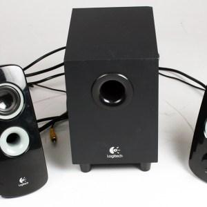 Logitech Z313 25 Watt 2.1 Multimedya Hoparlör - Siyah