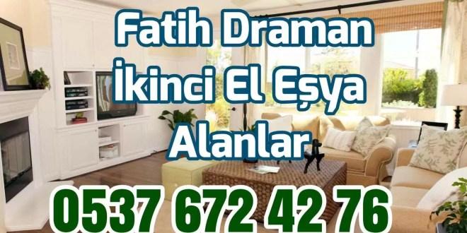 #1 Fatih Draman İkinci El Eşya Alanlar 1