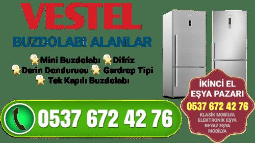 İkinci El Vestel Buzdolabı Alan Yerler 1
