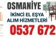 Osmaniye İkinci El Eşya Alanlar 18