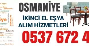 Osmaniye İkinci El Eşya Alanlar 1