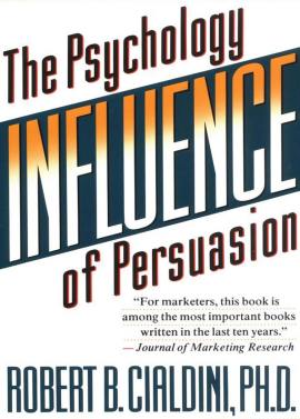 Influence: The Psychology of Persuasion by Robert B. Cialdini ebook epub/pdf/prc/mobi/azw3 download free
