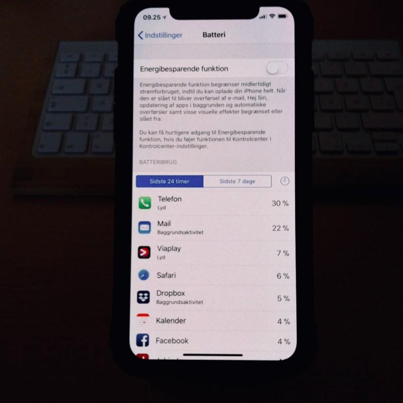 Hvilke apps der æder dit batteri?