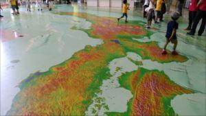 筑波研究学園都市~地図と測量の科学館バリアフリー情報