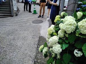 白山神社への車椅子ルート