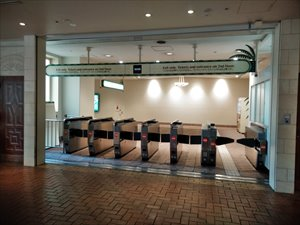 ディズニーリゾートラインの始発駅