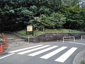 車椅子でも近づけるルート