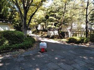駐車場から博物館周辺のバリアフリー状況