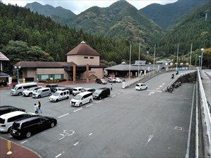 低地部駐車場の状況