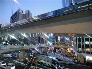 渋谷ストリームとの連絡通路