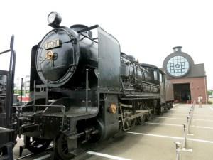 真岡鉄道SLキューロク館