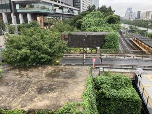 飯田橋駅「史跡展望テラス」