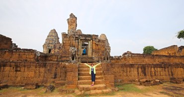 吳哥窟東美蓬寺景點推薦 柬埔寨景點East Mebon 湖中神廟,吳哥窟世界文化遺產