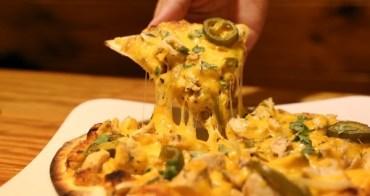 【彰化美食】一起來搖滾之夜唄!Pizza Rock 搖滾披薩(彰化中正店) @義式薄脆的手工披薩PIZZA,平價又美味
