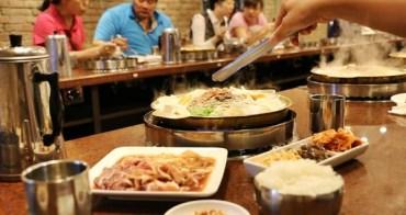 【彰化市美食】銘谷韓國烤肉泡菜豆腐鍋專賣店 @偏台式的韓式料理,口味稍重但醃漬肉品還不錯,偶爾都會點綜合拼盤銅板烤肉,整盤吃完超飽!