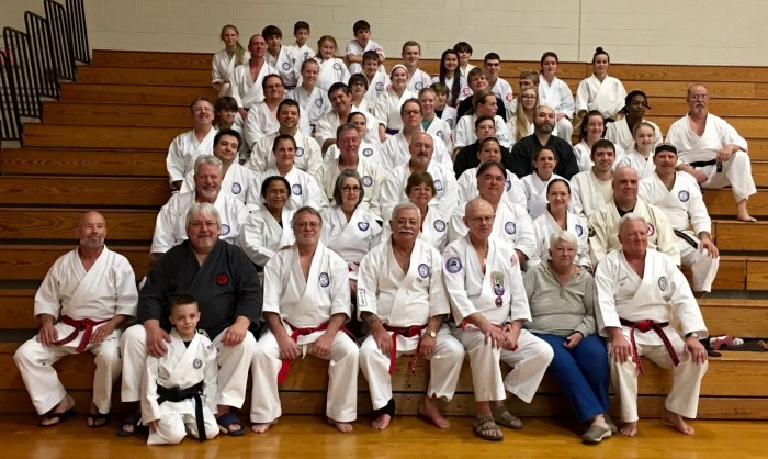2016 IKKU Koga-Ryu Kobudo Clinic - Group Photo