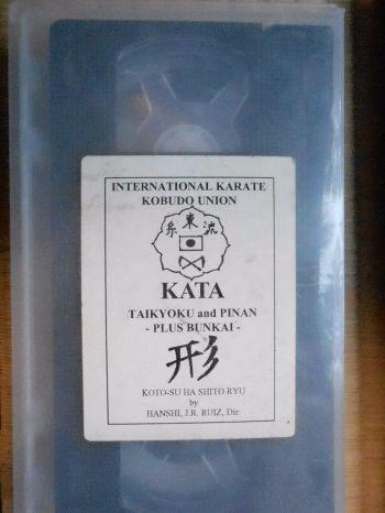 IKKU Kotosu-Ha Shito-Ryu Video Tape