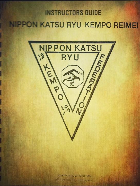 Katsu-Ryu Kempo Instructors Guide 2