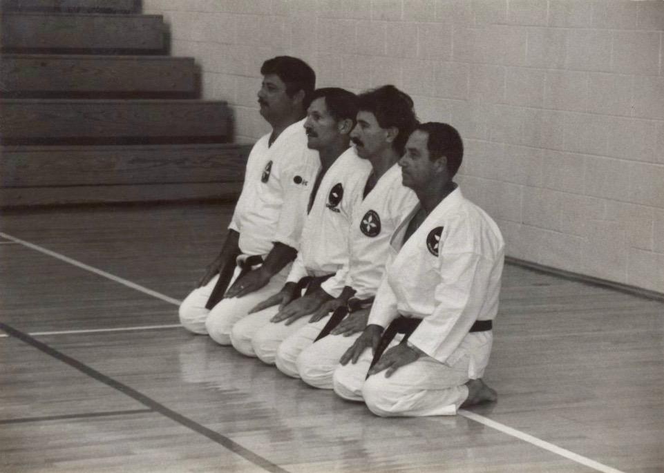 Early 80's lineup - Soke Ruiz, Soke Richard Baillargeon, Sensei Werhahn, Doc Stroud