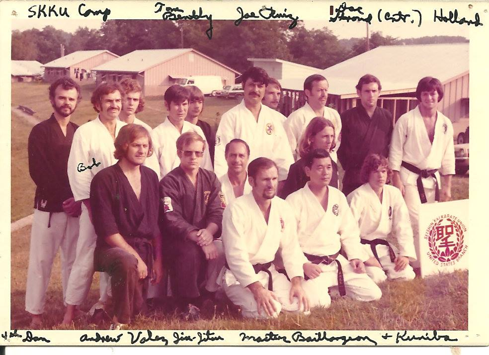 SKKU Summer Camp Small Group Photo with Soke Joseph Ruiz