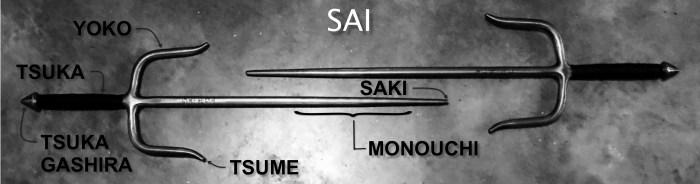 Sai History - INTERNATIONAL KARATE KOBUDO UNION