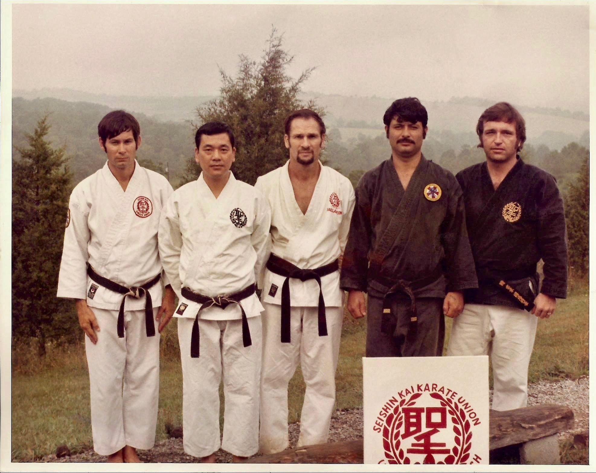 Seishin Kai Group Leadership Photo Early 70's Summer Camp - Photo Courtesy of Judy Kuniba