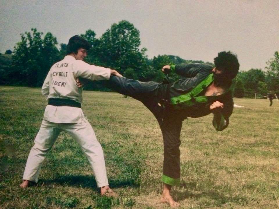 Soke Ruiz 1972-73 Black Green Gi - Photo Courtesy of Hanshi Ricky Adams