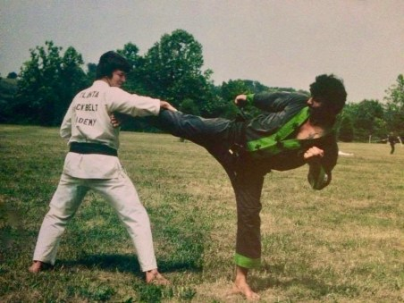 Soke Ruiz 1972-73 Black Green Gi - Photo Courtesy of Hanshi Ricky Adams
