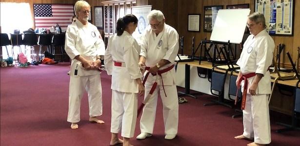 Tsuba Presentations for Shihan Dai Billie and Larry Robinson