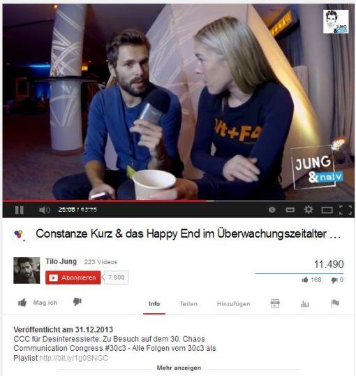 Constanze Kurz & das Happy End im Überwachungszeitalter - Jung & Naiv_ Folge 106 - YouTube' -ikl959.com