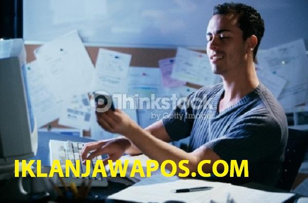Pasang Iklan Baris Jawa Pos Online