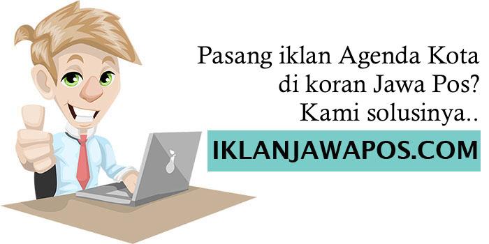 Iklan Jawa Pos Agenda Kota