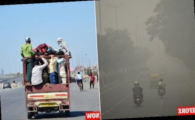 Air Pollution Plunges In India As Coronavirus Lockdown